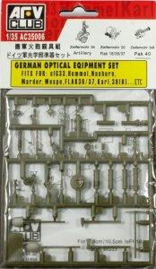 AFV Club AC35006 GERMAN OPTICAL EQIPMENT SET 1:35