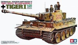 Tamiya 30611 Pz.Kpfw. VI Tiger I Ausfuhrung E (1:25)