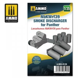 Ammo of Mig 8128 NbKWrf39 Smoke Discharged for Panther 1/35
