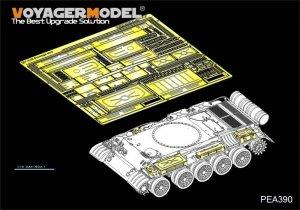 Voyager Model PEA391 Modern Russian T-14 Armata MBT Track pins For PANDA HOBBY PH35017 1/35