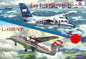 A-Model 01472 Let L-410UVP i L-410UVP-E Interflug, Polar Aviation 1:144