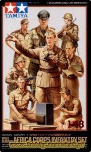 Tamiya 32561 German Africa Infantry Set (1:48)