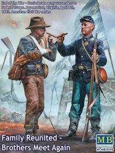 Master Box 35198 American Civil War: Family Reunited — Brothers Meet Again. End of the War. April 1865 1/35