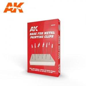 AK Interactive AK 9100 BASE FOR METAL PAINTING CLIPS