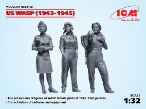 ICM 32108 US WASP (1943-1945) (3 figures) 1/32