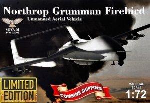 Sova 72003 Northrop Grumman Firebird Unmanned Aerial Vehicle 1/72