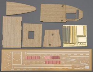 Hasegawa QG24 (72124) Wooden Deck for 1/700 Carrier AKAGI Three Flight Deck