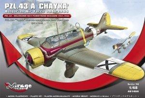 Mirage Hobby 481404 PZL.43 A 'CHAYKA' Bulgarian Air Force 1941-1944 1/48
