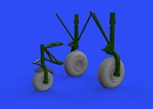 Eduard 632145 B-24 wheels (8spoke front wheel) 1/32 HOBBY BOSS