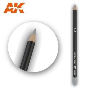 AK Interactive AK 10025 Watercolor Pencil NEUTRAL GREY