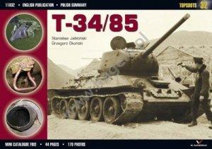 Kagero 11032 T-34/85 EN/PL
