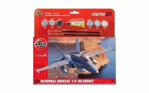 Airfix 55313 Large Starter Set - McDonnell Douglas F-18A Hornet 1/72