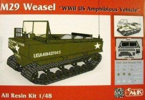 CMK 8049 M29 Weasel US Amphibious Vehicle 1/48