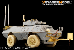 Voyager Model PEA199 Modern US Army M1117 Road Wheels (For TRUMPETER) 1/35