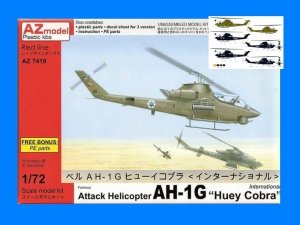 AZmodel AZ7419 Bell AH-1G Huey Cobra International 1/72