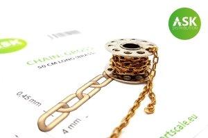 ASK T0260 Chain: Gross - 50 cm long (brass)