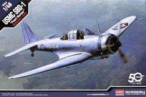 Academy 12331 USMC SBD-1 Dauntless Pearl Harbor 1/48