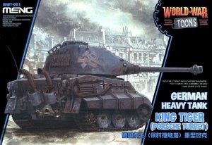 Meng Model WWT-003 World War Toons King Tiger (Porsche Turret)