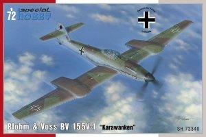 Special Hobby 72340 Blohm & Voss BV 155V-1 1/72