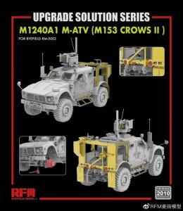 Rye Field Model 2010 M1240A1 M-ATV (M153 CROWS II) upgrade set 1/35
