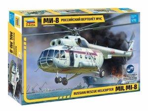 Zvezda 7254 Mil Mi-8 MCHS 1/72