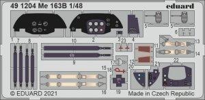 Eduard 491204 Me 163B GASPATCH MODELS 1/48