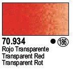 Vallejo 70934 Transparent Red (186)