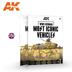 AK Interactive 514 WWII GERMAN MOST ICONIC SS VEHICLES. VOLUME 1