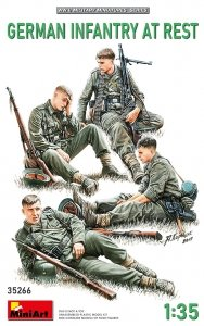 MiniArt 35266 GERMAN INFANTRY AT REST 1/35