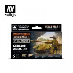 Vallejo 70205 WWII German Armour 6x17ml