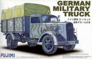 Fujimi 722276 German Military Truck Opel Blitz 3t Camouflaged 1/72