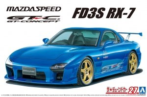 Aoshima 06147 Mazda Speed FD3S RX-7 '99 1/24
