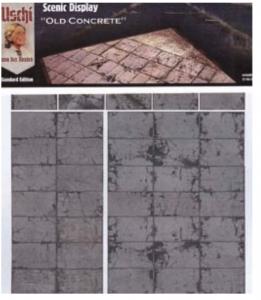 Uschi van der Rosten 3003 Scenic Display Old Concrete (1/72 /1/48)