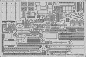 Eduard 53216 USS Saratoga CV-3 pt.1 TRUMPETER 1/350