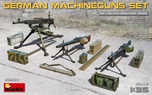 MiniArt 35250 GERMAN  MACHINEGUNS SET (1:35)
