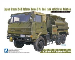 Aoshima 00794 Ground Self 3 1/2T Fuel Tank V 1:72