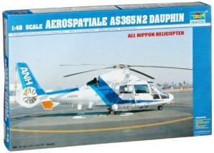 Trumpeter 02819 Aerospatiale SA365 N2 Japanese Domestic Rescue 1/48