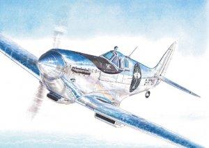 """AZ Model AZ7634 Spitfire Mk.IX """"The Longest Flight"""" 1/72"""