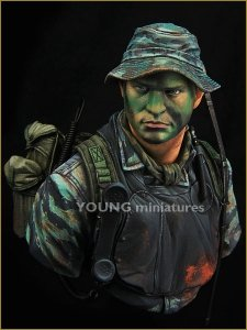 Young Miniatures YM1845 US NAVY SEAL VIETNAM 1/10