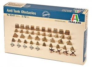 Italeri 6147 Anti-tank Obstacles 1/72