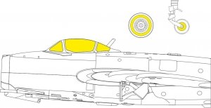 Eduard EX762 MiG-15  for Hobby 2000/Bronco 1/48