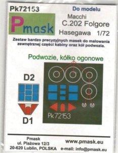 P-Mask PK72153 Macchi C.202 Folgore (Hasegawa) 1/72