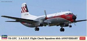 Hasegawa 10829 YS-11FC `JASDF Flight Check Squadron 60th Anniversary` 1/144