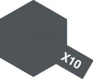 Tamiya X10 Gun Metal (81510) Acrylic paint 10ml