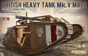 Meng Model TS-020 British Heavy Tank Mk.V Male