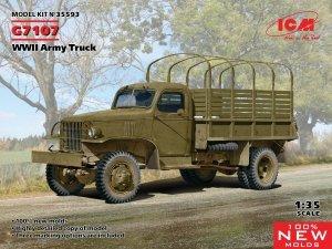 ICM 35593 G7107 WWII Army Truck 1/35