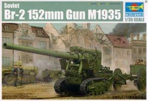 Trumpeter 02338 Soviet Br-2 152mm Gun M1935 (1:35)