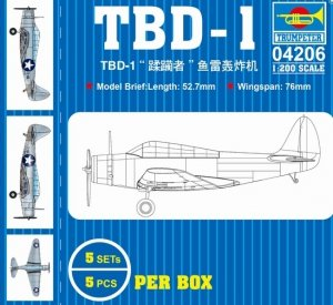 Trumpeter 04206 TBD-1 torpedo bomber 1/200