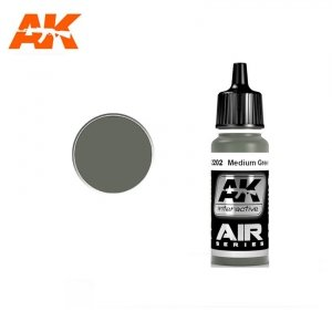 AK Interactive AK 2202 MEDIUM GREEN 42 17ml