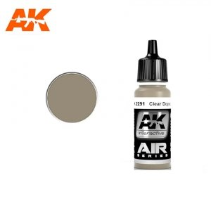 AK Interactive AK 2291 CLEAR DOPED LINEN 17ml